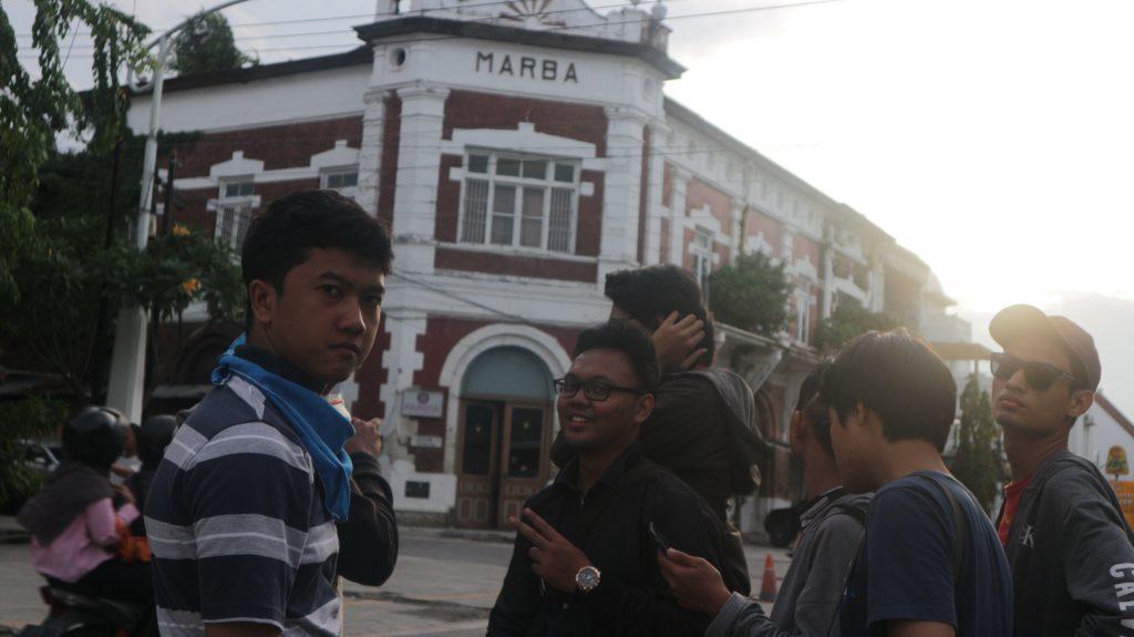 Jalan Sore di Kota Lama Semarang